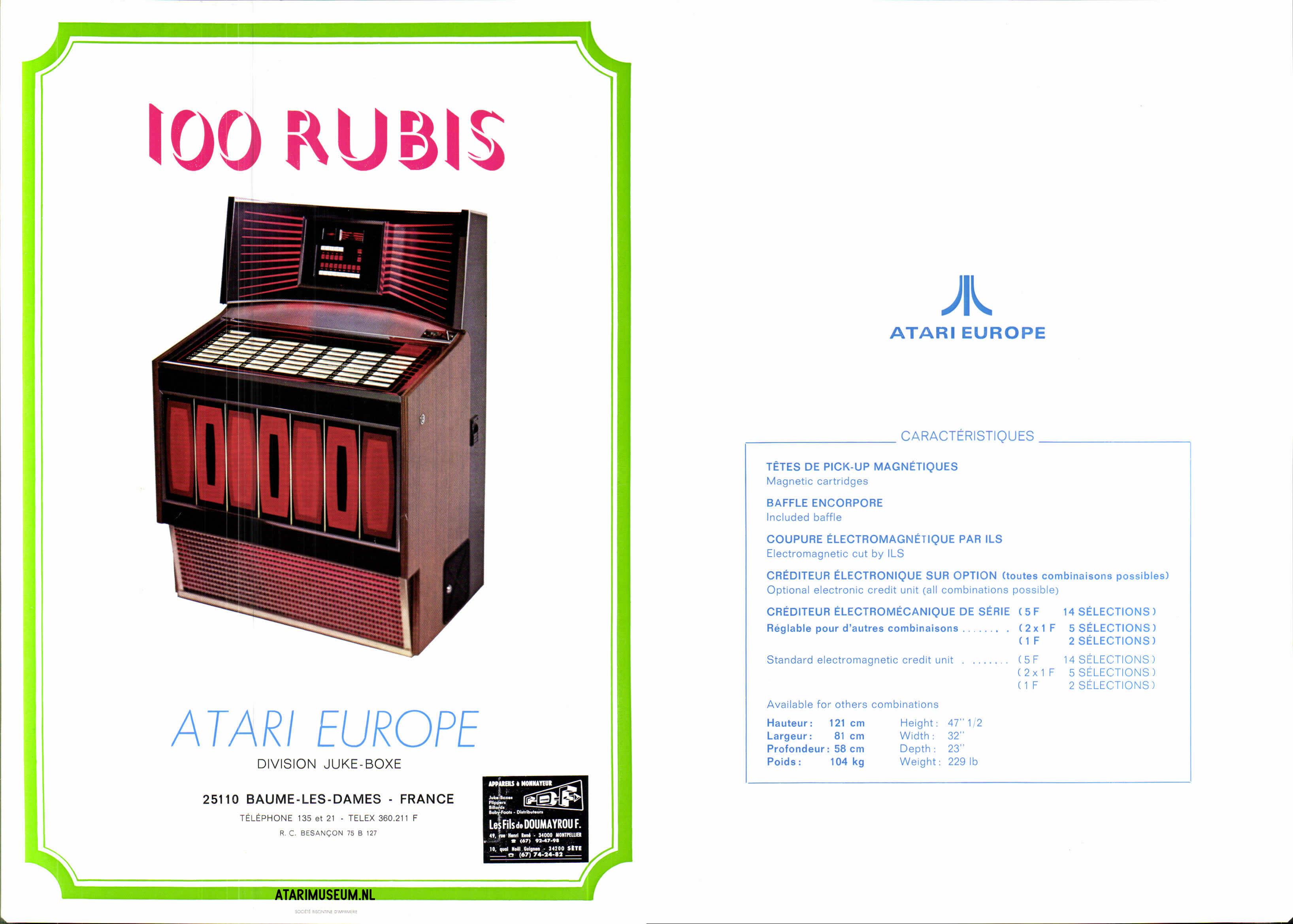 Atari jukebox – Atarimuseum nl