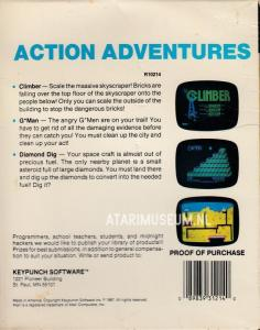 Action Adventures back