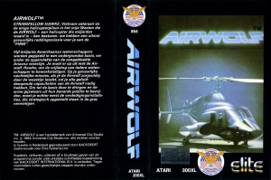 Airwolf Aackosoft cass