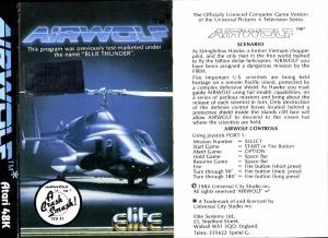 Airwolf Elite cass