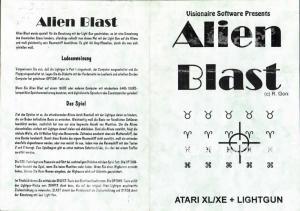 Alien Blast KEsoft