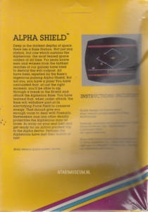 Alpha Shield Sirius back