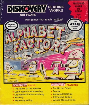 Alphabet Factory disk front