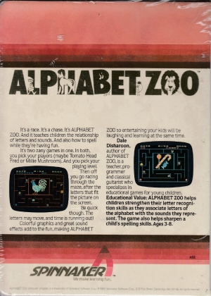 Alphabet Zoo cart back