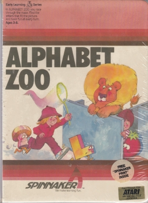 Alphabet Zoo cart front