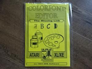Colorfont Editor