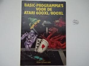 Basic Programma's voor de Atari 600XL/800XL