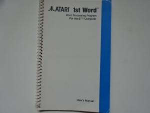 1st Word manual