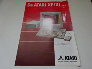 Atari XE/XL Leaflet