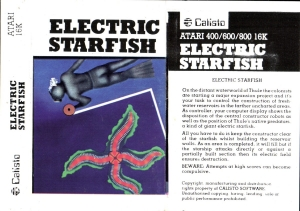 Electric Starfish B cass