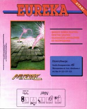 Eureka Mirage disk