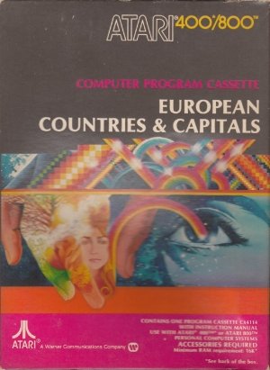 European Countries and Capitals caass front