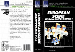 European Scene Jigsaw Puzzles Vol1 cass