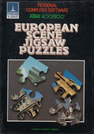 European Scene Puzzles cass front