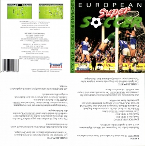 European Super Soccer German disk