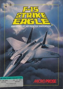 F15 Strike Eagle disk front