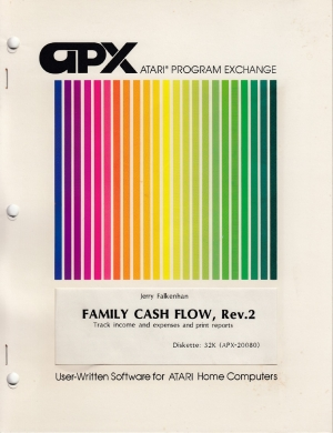 Family Cash Flow Rev2 disk