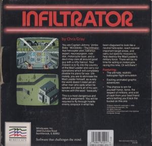 Infiltrator disk back