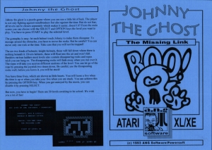 Johnny The Ghost Ang disk