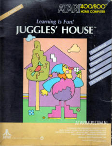 Juggles House cass front