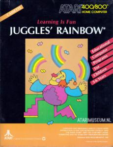 Juggles Rainbow cass front