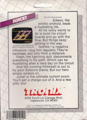 Juice disk back