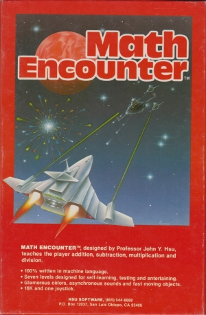 Math Encounter front