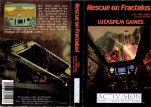 Rescue On Fractalus Activision cass