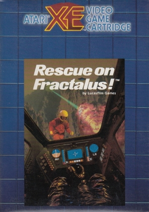Rescue on Fractalus cart front