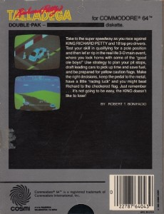 Richard Pettys Talladega disk back