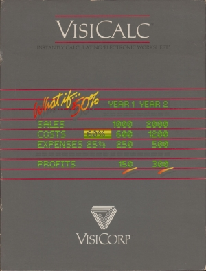 Visicalc front