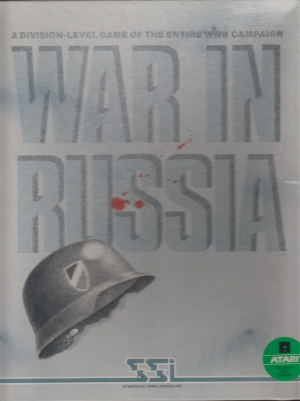 War In Russia disk front