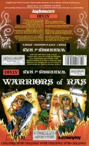 Warriors Of Ras cass