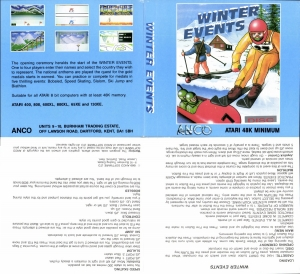 Winter Events disk